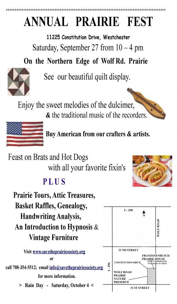 Prairie fest poster 2014 Ver 2